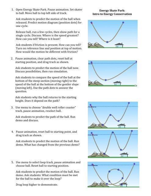 Phet Energy Skate Park Lab Answers - Energy Etfs