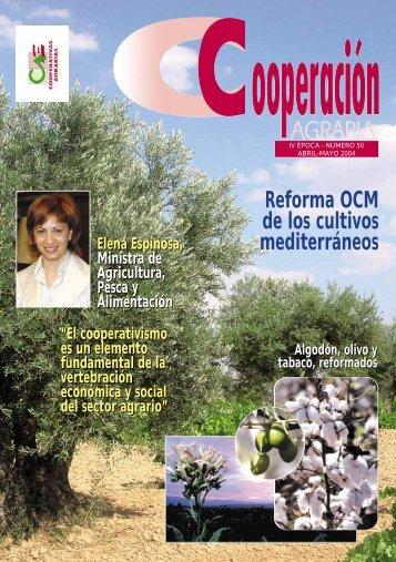 Reforma OCM de los cultivos mediterráneos - Cooperativas Agro ...