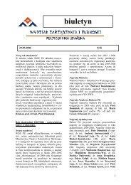 wrzesień 2006 nr 8/26 - Wydział Zarządzania i Ekonomii