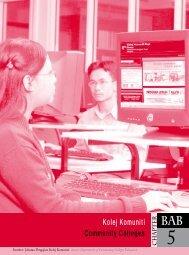 Bab 5 - Kolej Komuniti - Kementerian Pengajian Tinggi