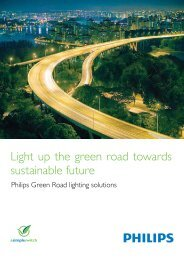 Philips Green Road lighting solutions - banfaifa