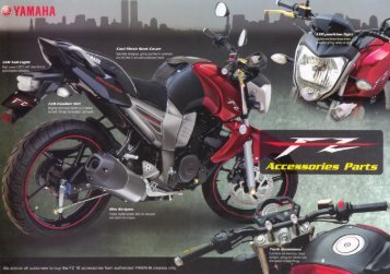 Accessories - India Yamaha Motor Pvt. Ltd.