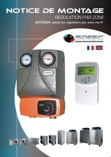 Climatic Control-HC, Gestion température d'eau pour - Sdeec
