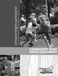 Community Input - Arlington Heights Park District