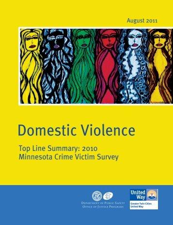 Crime Victim Survey Summary - United Front