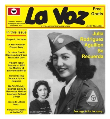 La Voz de Austin, November 2011.pmd - La Voz Newspapers