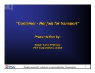 """""""Container - Not just for transport"""""""