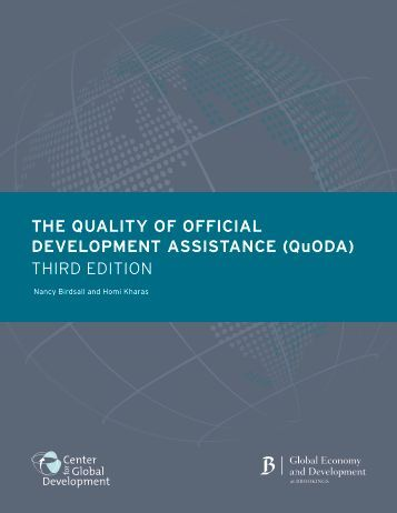 quality of official development assistance  final