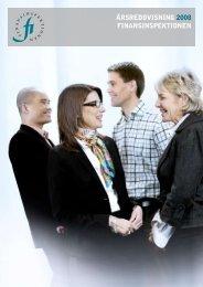 FI årsredovisning 2008 - Finansinspektionen