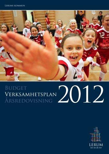 Verksamhetsplan 2012 - Lerums Kommun