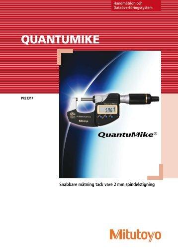 QuantuMike - Mitutoyo Scandinavia AB