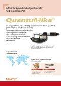 QuantuMike - Mitutoyo Scandinavia AB - Page 2