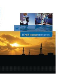 2008 Annual Report - Penn Virginia Corporation