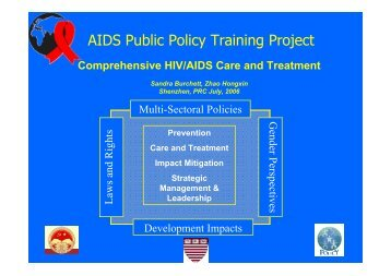 AIDS Public Policy Training Project