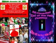 END OF THE YEAR PAGEANT - Miss All Canadian Pageants