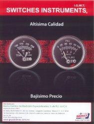 Switches Instruments.pdf - grupoidimex.com.mx