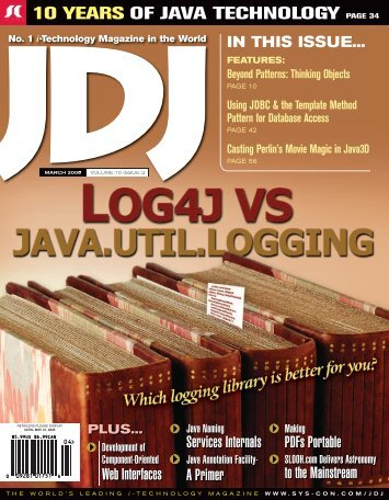 JDJ 10-3.indd - sys-con.com's archive of magazines - SYS-CON Media
