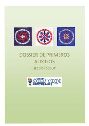 DOSSIER DE PRIMEROS AUXILIOS - Scouts Sant Yago