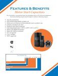 Motor Start Capacitors Motor Run Capacitors - Page 4