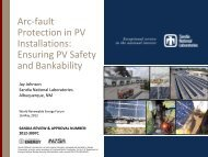 Arc-fault Protection in PV Installations: Ensuring PV Safety and ...