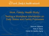 presentation - Prevention Research Center - Penn State University