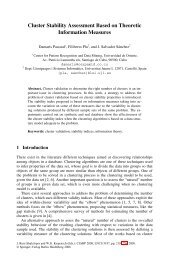 Cluster Stability Assessment Based on Theoretic Information ...