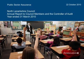 North Lanarkshire Council Annual Report to ... - Audit Scotland