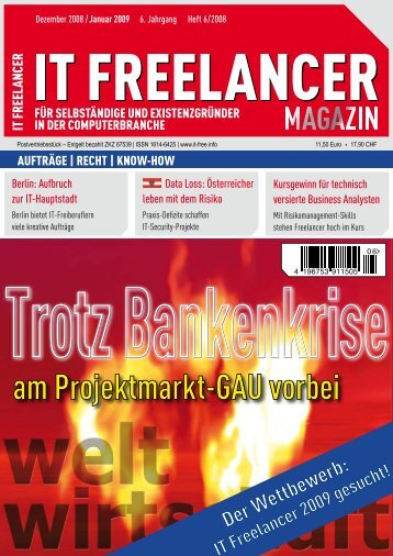 IT Freelancer Magazin Nr. 6/2008