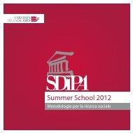 Summer School 2012 - Management