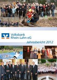Volksbank rhein-lahn eG Jahresbericht 2012