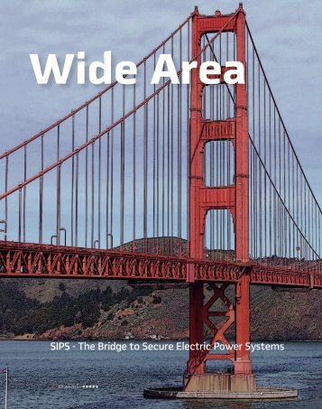 SIPS - The Bridge to Secure Electric Power Systems - PAC World ...