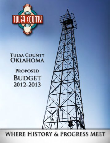 Tulsa County 2012-2013 Budget