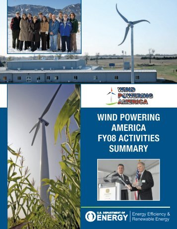 Wind Powering America FY08 Activities Summary (Book)