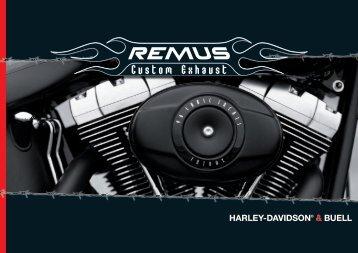 HARLEY-DAVIDSON® & BUELL - Remus
