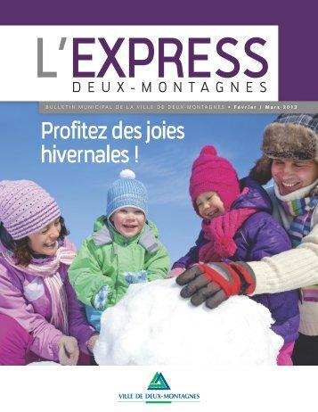 Février-Mars 2013 - Ville de Deux-Montagnes