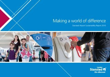corporate responsibility report - London Stansted Airport