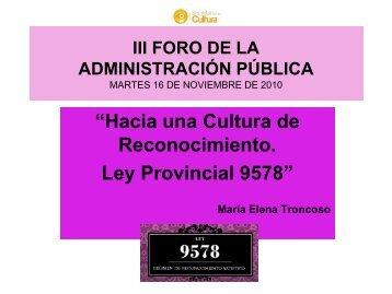 III Foro de la Admninistración Pública · Descargar PDF - Maria Elena ...