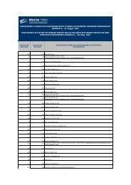 Lista partecipanti Express II Maggio 2012 - Monte Titoli