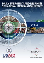 Daily Emergency and Response-Situational Information Report- 15th September 2014