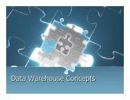 Data Warehouse Concepts - DOC SERVE