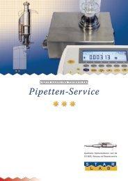 Pipetten-Service