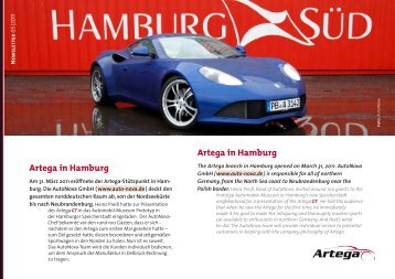 Newsletter 05/2011 - Artega GT Forum