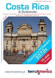 16 dias & Guatemala 15Junho a 31Outubro € - Terra Brasil