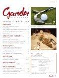 Gastronomie stilvoll genießen in der Region Lifestyle ... - Garreler.de - Page 3