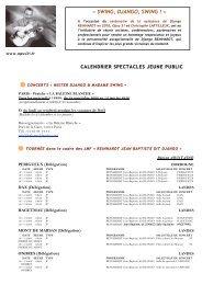 REINHARDT JEAN BAPTISTE DIT DJANGO - Opus 31