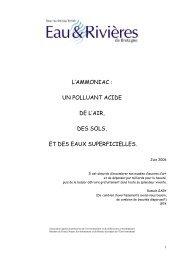 l'ammoniac - Eau et rivières de Bretagne