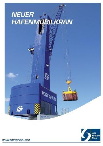 NEUER HAFENMOBILKRAN - Port of Kiel