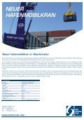 NEUER HAFENMOBILKRAN - Port of Kiel - Page 2