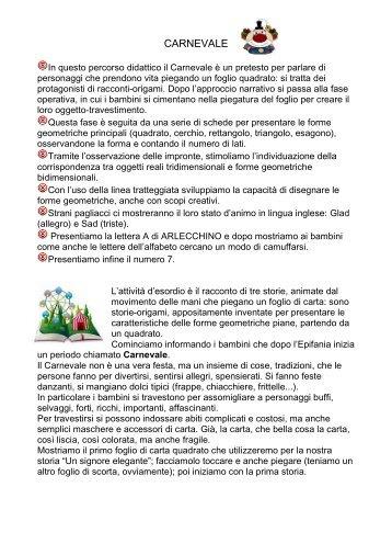 CARNEVALE - La Teca Didattica