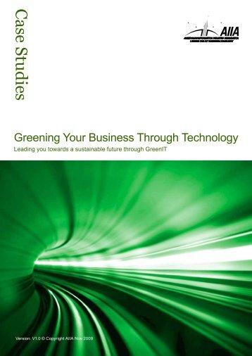 GreenIT Case Studies - WITSA
